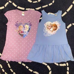 Disney Frozen Girls Dresses size 2-4